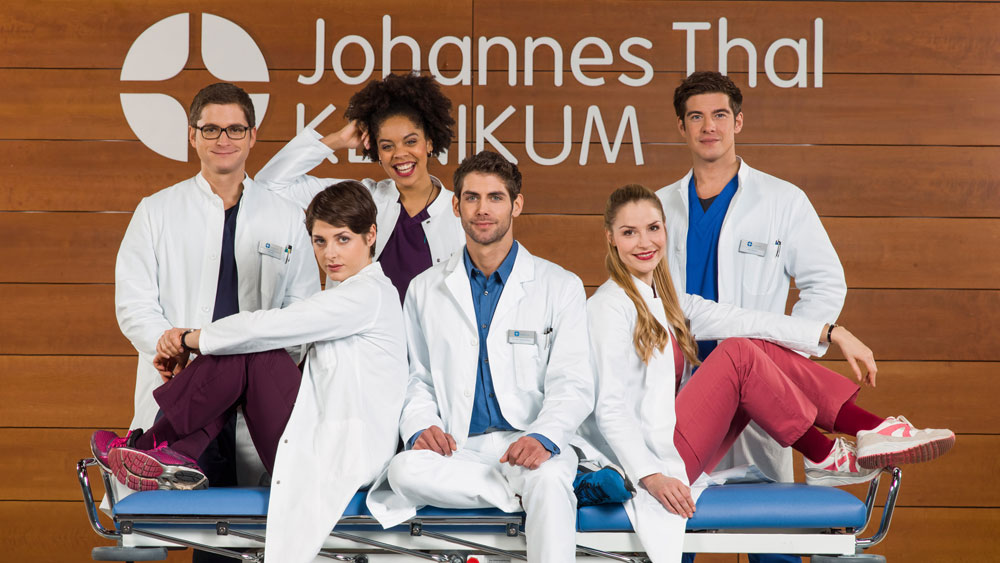 Audiodeskription audioskript: In aller Freundschaft - Die jungen Ärzte