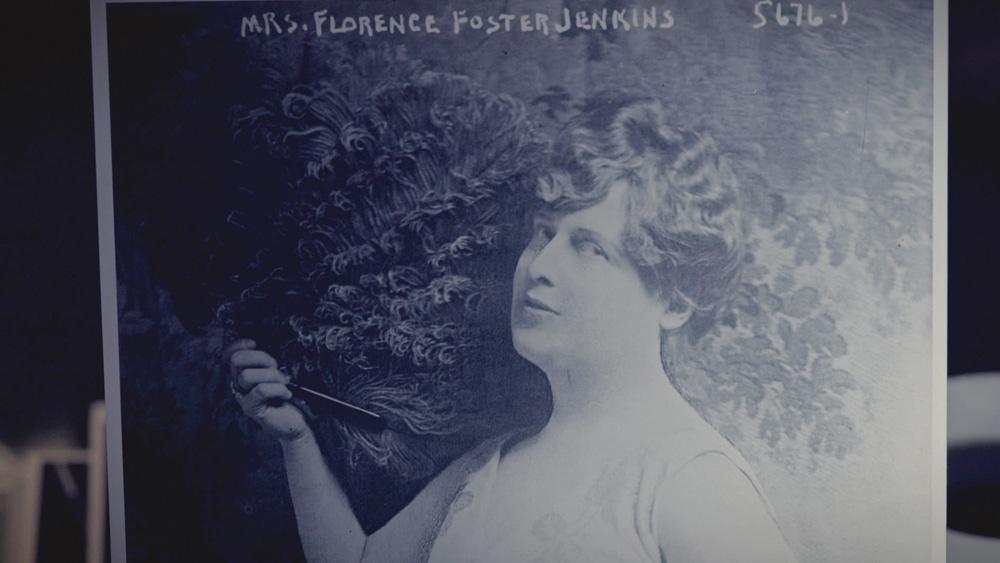 Audiodeskription audioskript: Die Florence Foster Jenkins Story