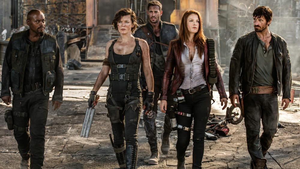 Audiodeskription audioskript: Resident Evil: The final Chapter